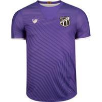 Camisa De Goleiro Do Ceará Iii 2020 Nº1 - Masculina - Roxo