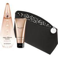 Kit Perfume Ange Ou Démon Le Secret Feminino Eau De Parfum 100Ml + Body Lotion 75Ml + Nécessarie