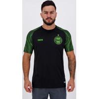 Camisa 1909 Coritiba Pré Jogo 2020 Masculina - Masculino-Preto