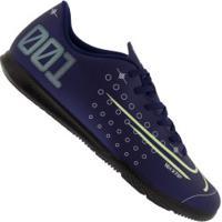 Chuteira Futsal Nike Mercurial Vapor 13 Club Mds Ic - Adulto - Azul Escuro