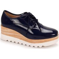 Sapato Oxford Feminino Moleca - Marinho