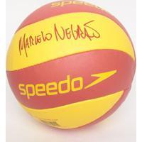 Bola De Vôlei Marcelo Negrão- Amarela & Vermelha- 66Speedo