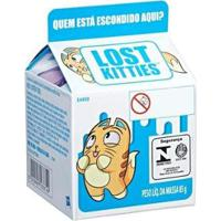 Boneco Caixa Surpresa Lost Kitties Com Acessórios - Unissex-Incolor