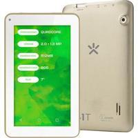 "Tablet Mirage 41T Quadcore Dual Câmera 2Mp + 1.3Mp Tela 7"" Android 4.4 Dourado - Nb250"