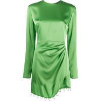 David Koma Vestido De Festa Assimétrico - Verde
