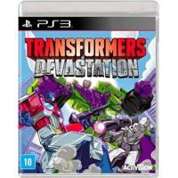 Jogo Transformers Devastation - Ps3 - Unissex
