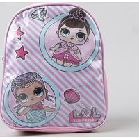 Mochila Infantil Lol Surprise Rosa - Único