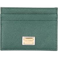 Dolce & Gabbana Porta-Cartões 'Dauphine' De Couro - Verde
