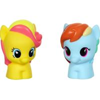 Mini Figura - My Little Pony - Rainbow Dash E Bumble Sweet - Hasbro - Unissex