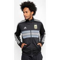 69dcb05d630 Netshoes  Jaqueta Seleção Argentina Adidas 3S Masculina - Masculino