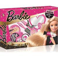 Barbie Hairstylist Penteados Com Acessórios De Beleza Material Plástico Indicado Para +3 Anos Rosa Multikids - Br814 Br814