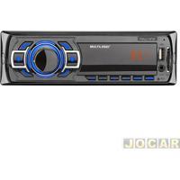 Auto Rádio Mp3 Player - Multilaser - New One Com Entrada Usb/Sd/Mmc/Auxiliar - Cada (Unidade) - P3318