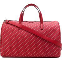 Karl Lagerfeld Mala 'K/Stripe Logo' - Vermelho