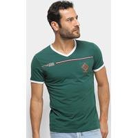 Camiseta Eagle Rock Manga Curta Masculina - Masculino-Verde