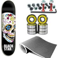 Kit Shape Black Star Cruz 8.0 Com Lixa, Parafuso E - Unissex