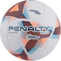 2897c653ae Bola De Futebol De Campo Penalty Matís Termotec Viii - Branco Azul