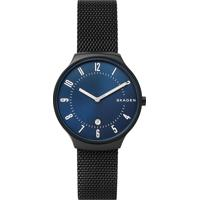 Relógio Analógico Skagen Masculino - Skw64611Pn Preto
