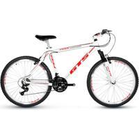 Bicicleta Aro 26 Gts Feel Freio Vbrake 21 Marchas - Unissex