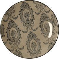 Prato De Parede Decorativo De Porcelana Dawa