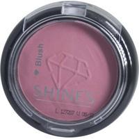 Blush Shine'S Cosméticos Tangerina Bege