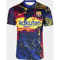 Camisa Barcelona Treino 20/21 Nike Masculina - Masculino