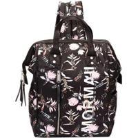 Bolsa Mochila Mormaii Nylon Com Estampada Floral Feminina - Feminino