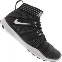 Tênis Nike Free Train Virtue - Masculino - Preto/Cinza Esc