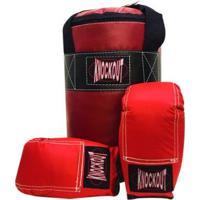Kit Boxe Infantil Millenium Knockout - Unissex
