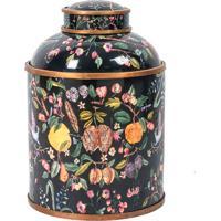 Vaso Decorativo De Porcelana Xangai G