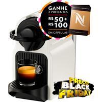 Máquina De Café Nespresso Inissia: Preparo De Espresso 40Ml E Lungo 110Ml; 19 Bar De Pressão; Aquecimento Rápido; Desligamento Automático
