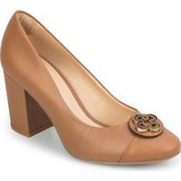 Sapato Tradicional Em Couro Com Tag - Begecapodarte