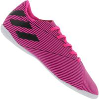 Chuteira Futsal Adidas Nemeziz 19.4 Ic - Adulto - Rosa/Preto