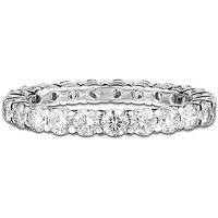 Aliança Absoluta Ouro Branco E 161 Pontos De Diamantes
