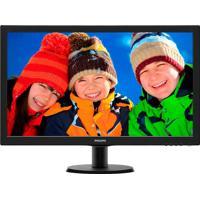 Monitor Philips 27'' Lcd Tft 273V5Lhab Preto
