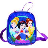 Lancheira Térmica Princesas Disney Azul