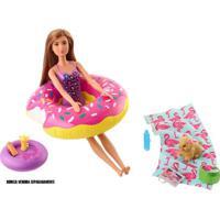 Acessórios De Boneca - Barbie - Móveis De Casa - Acessórios De Piscina - Mattel