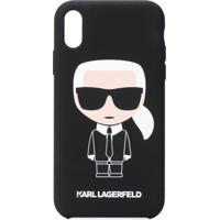 Karl Lagerfeld Capa Para Iphone Xr Karl Ikonik - Preto