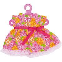 Baby Alive Roupinhas Vestido Laranjas 2104 Cotiplás