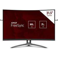 Monitor Gamer Aoc Agon W-Led 31.5´ Widescreen Curvo, Fhd, Hdmi, Displayport, Freesync, 165Hz, 1Ms - Ag323Fcxe