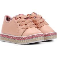 Sapato Infantil Molekinha Tiras Feminino - Feminino-Laranja