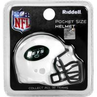 Mini Capacete Riddell New York Jets - Unissex