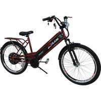 Bicicleta Elétrica Duos Confort 800W 48V 12Ah Vinho