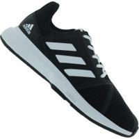Tênis Adidas Courtjam Bounce - Masculino - Preto/Branco