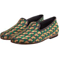 Slipper Sapatos Elisa Marchi Loafer Home Verde