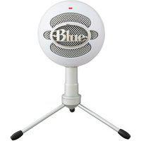 Microfone Condensador Usb Blue Snowball Ice Branco - 988-000070