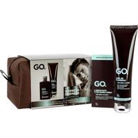 Kit Go Gel De Barbear 90G + Hidratante Pós-Barba Fresh 70G