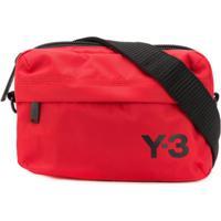 Y-3 Pochete Com Logo - Vermelho
