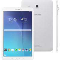 """Tablet Samsung Galaxy Tab E 9.6"""" 8Gb Sm-T560 Branco"""
