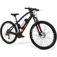 Bicicleta Elétrica Gts I-Vtec Aro 29 Freio Disco Câmbio Shimano 24 Marchas E Amortecedor - Unissex
