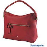 Bolsa Samsonite Shelly Hobo 11 Litros Vermelha - Ci7060004